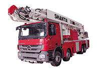 Fire Vehicle and Aerial Platform Vehicle