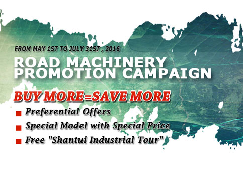 Big Sale of Shantui Road Machinery