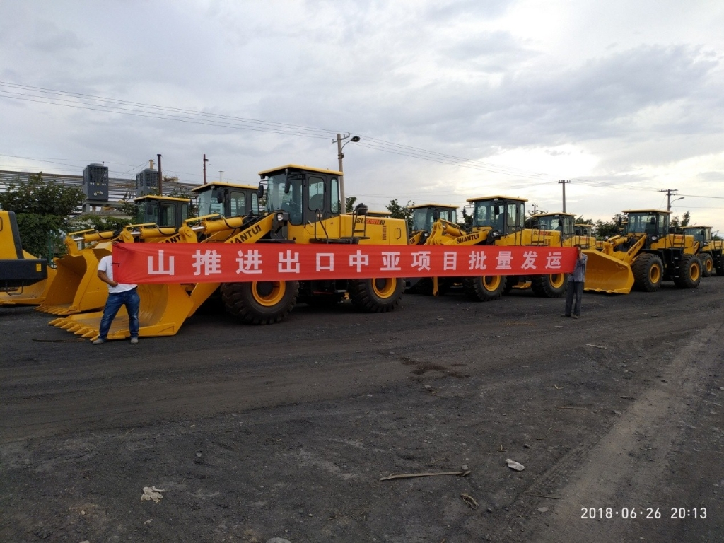 Bulldozers and Loaders are Ready for Shipment to Uzbekistan