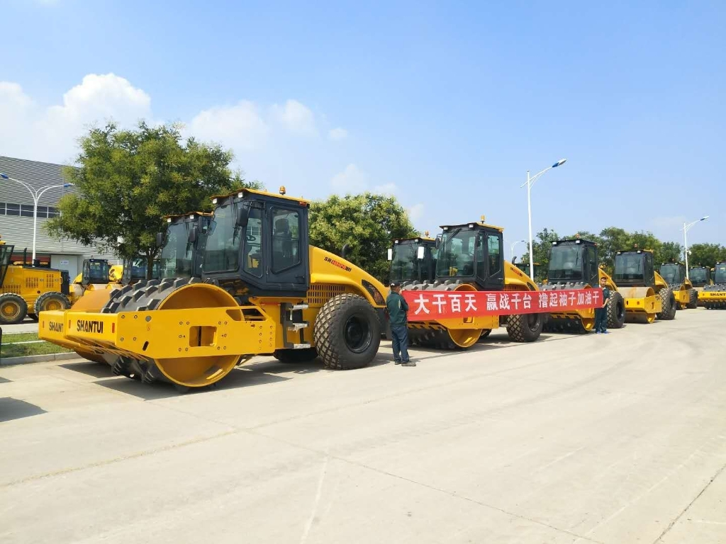 SHANTUI Road Rollers Have Been Ready for Delivery to DRC