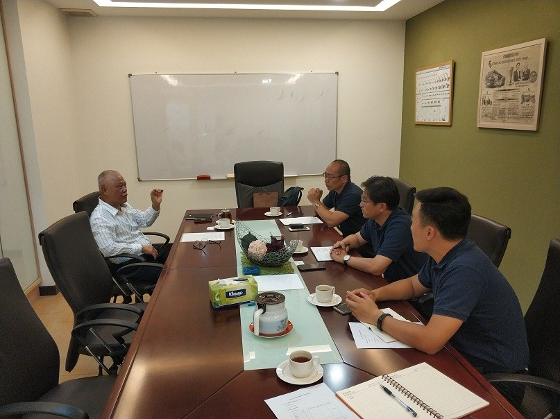 Shantui's General Manager Zhang Min Visit Agency in
